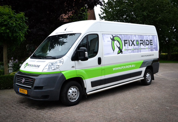 Fix and Ride reparatie- en onderhoudservice