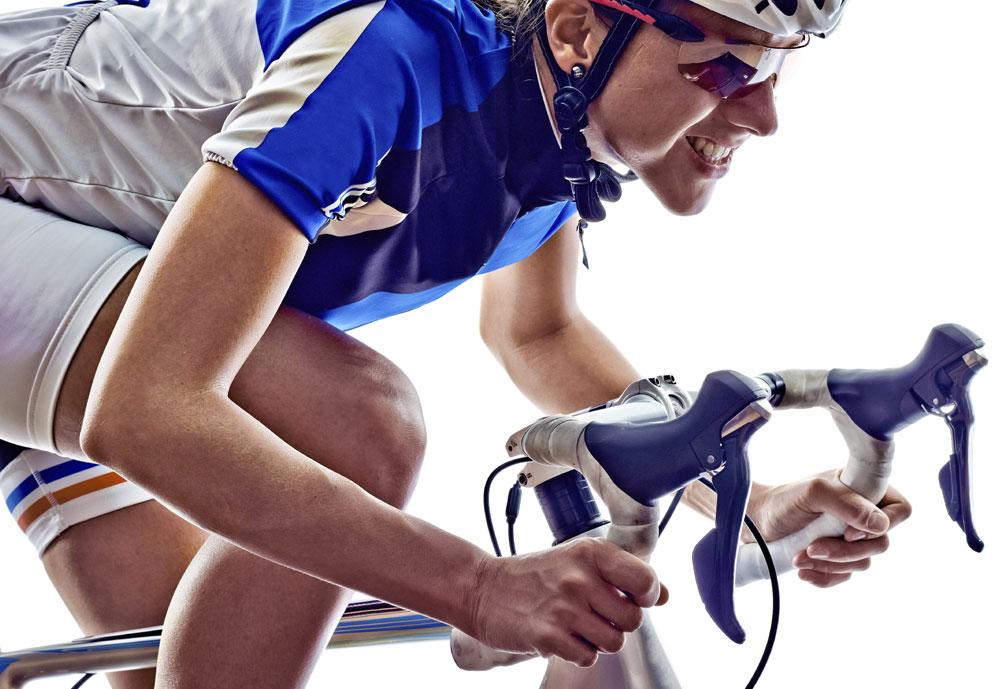 Zadelpijn bij wielrennen